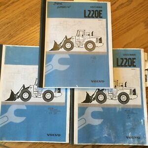 Volvo L220e Wheel Loader Service Shop Repair Manual Engine Electrical Sections