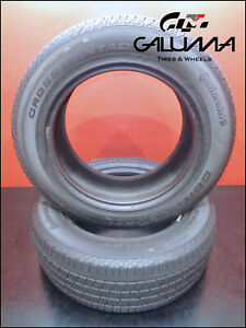 2 Two Nice Tires Continental 235 60 18 Crosscontact Lx Sport 107h Audi 51650