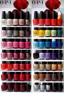 OPI O.P.I Nail Polish NEW & DXD STOCK - YOUR CHOICE Full Size Lacquer Series A -