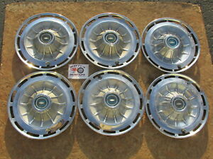 1962 Chevy Impala 14 Wheel Covers Hubcaps Lot Of 6