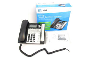 At t 1070 Four Line Small Business Telephone System No Power Cord
