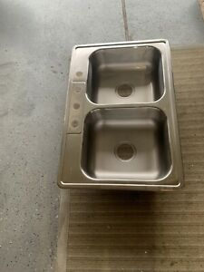 Stainless Steel Two Side Kitchen Sink