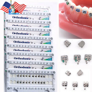 10 Packs Dental Brace Orthodontic Bracket Power Chain Elastic Tube Mini Roth022