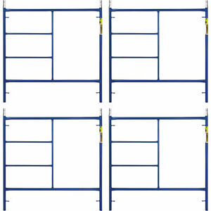 Metaltech M mf6060apsk4 Saferstack 5ft X 5ft Mason Frame 4 pack