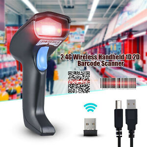 Laser Usb Wireless Fast Speed Barcode Scanner For Windows Linux Mac Os System