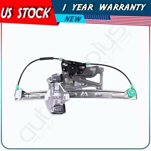 New Power Window Regulator Fits 2000 2001 Cadillac Deville Front Left With Motor