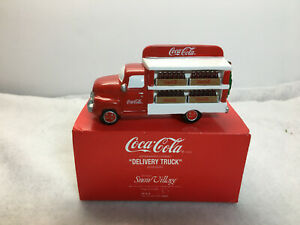 Dept 56 Snow Village Coca-Cola Delivery Truck 5479-8 Retired NIB