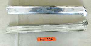1965 1968 Ford Mustang Convertible Windshield Post Moldings Chrome 3172