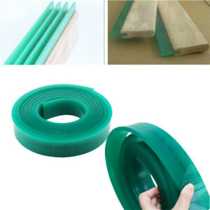 6 Ft Screen Printing Tape Squeegee Blade Roll Grind Flat Scraping Scrapper