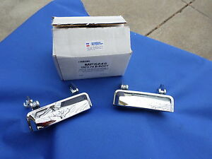 New 1973 74 Dodge Charger Coronet Roadrunner Front Door Handle Pair Mopar