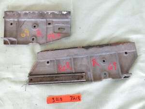 1969 Ford Mustang Cougar Door Window Tracks C9zb 65223a18 A C9zb 652168 A 3218