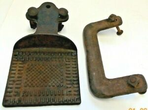 Vintage Antique Cast Iron Wagon Buggy Foot Step Plate No 1758 Patented