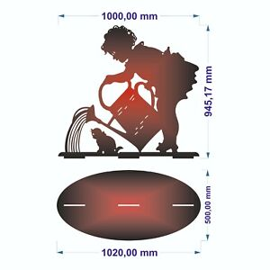 Dxf Sign For Plasma Laser Waterjet Router Plotter Cut Ready Vector Cnc