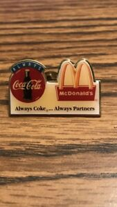 McDonalds & Coca Cola Pin From 1994 Las Vegas Owners Convention