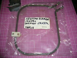 Electric Heating Element 120vac 6 1 2 X 8 1 2 560 Watt Great Condition
