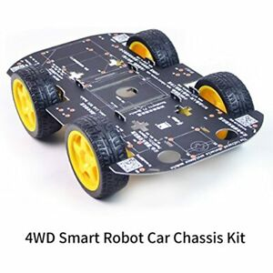 4wd Robot Chassis Kit With Tt Motor For Arduino raspberry Pi Industrial