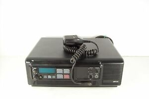 M a com M7100 800mhz Mobile Radio W Microphone And Dsdx09 Base Station Cabinet
