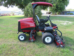 2013 Toro 5610 Fairway Reel Mower Kubota Diesel 96 Cut Dpa Reels 03690n