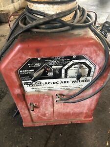 Lincoln Electric Arc stick Welder Ac dc 225 125 Single Phase 230 Volt