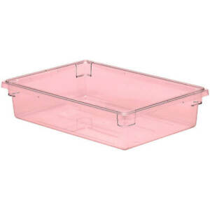 Cambro 8 75 Gal Food Storage Boxes Camwear 6pk Safety Red 18266cw 467