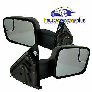 For 03 08 Dodge Ram Truck New Manual Tow Towing Camper Side Mirror Kit