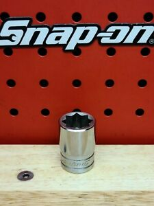 Snap On 1 2 Drive 5 8 Sae Double Square 8pt Socket Sw420 Free Shipping