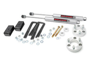 Rough Country 3 Suspension Lift Kit N3 Shocks For 2005 20 Toyota Tacoma 74530