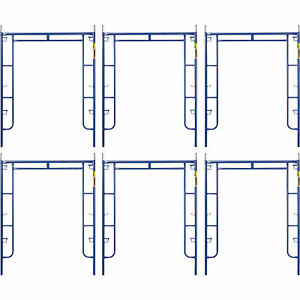 Metaltech Saferstack 6ft X 5ft Arch Frame 6 pack Model M ma7660psk6
