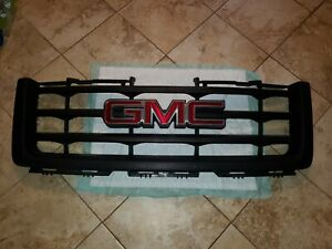 2008 2009 2010 2011 2012 2013 Gmc Sierra 1500 Base Grille Oem Used 15201485