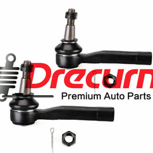 2pcs Front Left right Outer Steering Tie Rod Ends For Nissan 300zx Infiniti Q45