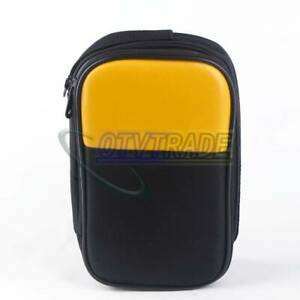 Double Layer Zipper Carrying Case Fluke Multimeters 15b 17b 18b 175 115 116 117