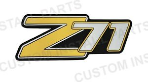 Rear Liftgate Side Panel Z71 Emblem Replacement For 15051184 Fits Suburban Tahoe