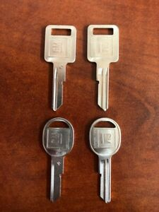 Oem Gm Key Blanks a b Ignition And Dr trk Pairs 320588 320589 B48 B49