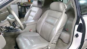 Cadillac Eldorado Shale Leather Heated Seat Pair With Console Hot Rod Swap