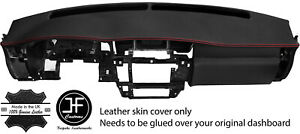 Red Stitching Dash Dashboard Real Leather Cover Fits Nissan Patrol Y61