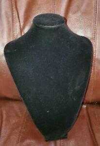 Black Velvet Torso Jewelry Display