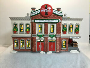 Dept 56 Snow Village - Coca Cola Bottling Plant #5469-0 - In Original Box