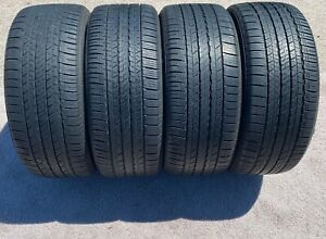 Set 4 235 45 18 94v Dunlop Sp Sport 7000 A S Used Tire 7 32 No Repairs