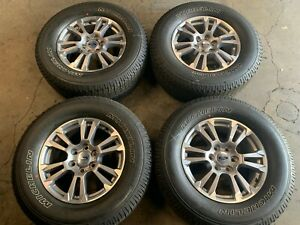 2015 2016 2017 Ford F150 Fx2 Factory 18 Wheels Tires Oem Rims 10001 Expedition