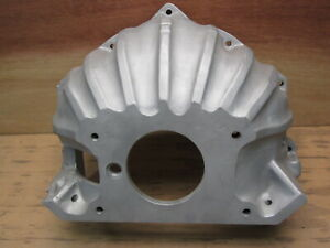 R C Chevy Aluminum Blowproof Safety Bellhousing Scatter Shield Nhra Race Vintage