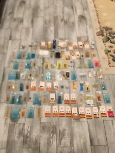 Over A 100 Of Vintage Radio Shack Archer Trw Electronic Components