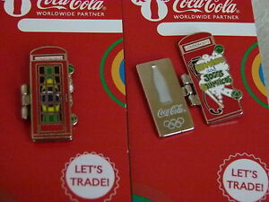 Coca Cola LONDON 2012 Olympic - Brazil Welcome to the Game phone box pin