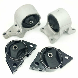 Transmission Motor Mount For 1993 2001 Nissan Altima 2 4l Auto Trans Set Of 4pcs