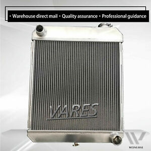 3rows Radiator For 1960 1961 1962 1963 1966 Chevy Pickup Truck 6cyl L6 Engine