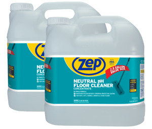 Zep Neutral Ph Floor Cleaner Concentrate 2 5 Gallons case Of 2 Zuneut320