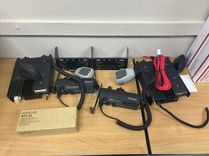 Lot Of 2 Kenwood Tk 790 Vhf Alh22933110 148 174 Mhz Radio And Mic