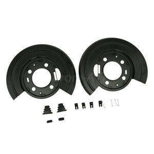 Rear Brake Dust Shield Backing Plates Pair For Ford F250 F350 Excursion 924 212