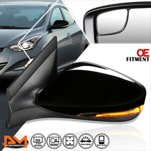 For 14 17 Hyundai Accent Oe Style Powered heated Side Rear View Mirror Right Rh