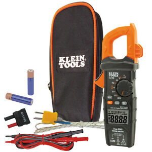 Klein Tools Digital Clamp Meter Ac Auto ranging Trms Low Impedance loz Mode