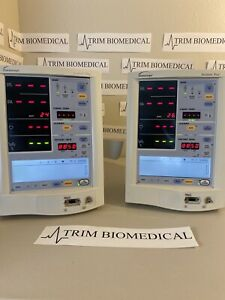 Lot Of 2 Datascope Medical Accutorr Plus Vital Signs Monitor